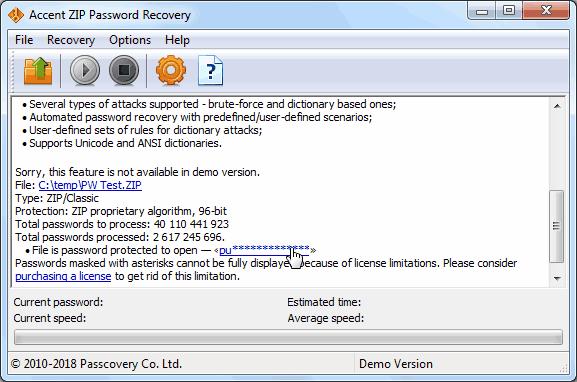 🎉 Daossoft zip password rescuer free registration code